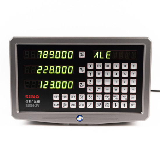 SINO SDS6-3V Digital readout metal DRO display